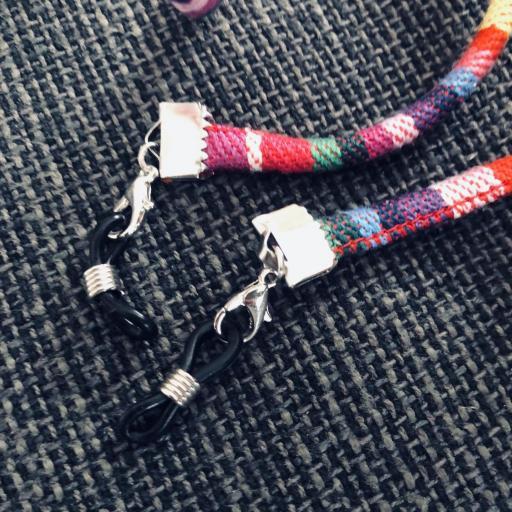 Cordón gafas redondo en tonos arcoiris [2]