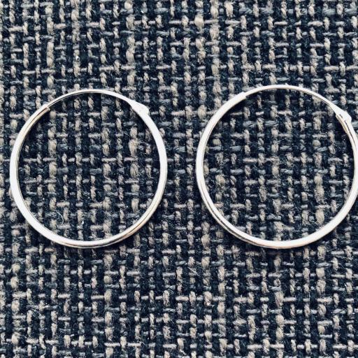 Aros de plata de 40 mm [2]