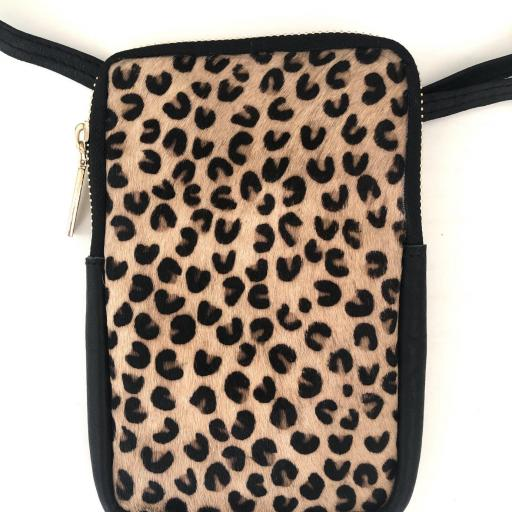 Bolos rectangular animal print leaopardo