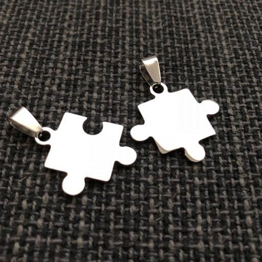 Colgante doble puzzle [1]