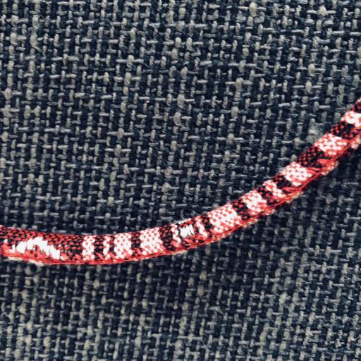 Cordón gafas redondo en tonos granate [2]