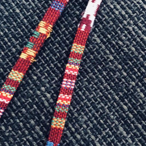 Cordón gafas plano en tonos granate multicolor [2]