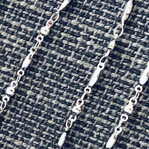 Cordón gafas de tubos de acero [3]