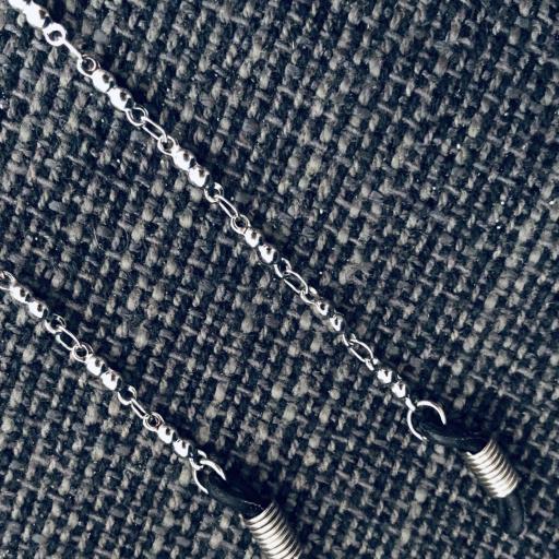 Cordón gafas de piezas circulares de acero [1]
