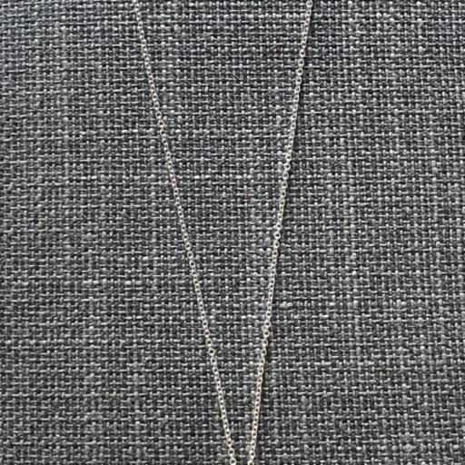 Collar geométrico calado con borla azul marino y verde oliva [2]