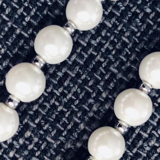 Pendientes de perlas de nácar [3]