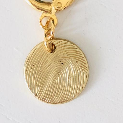 Aros criolla con círculo dorado [2]