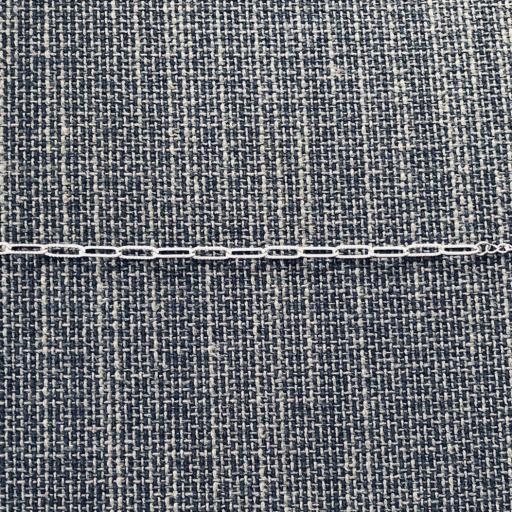Pulsera de eslabones texturados y plateados [2]