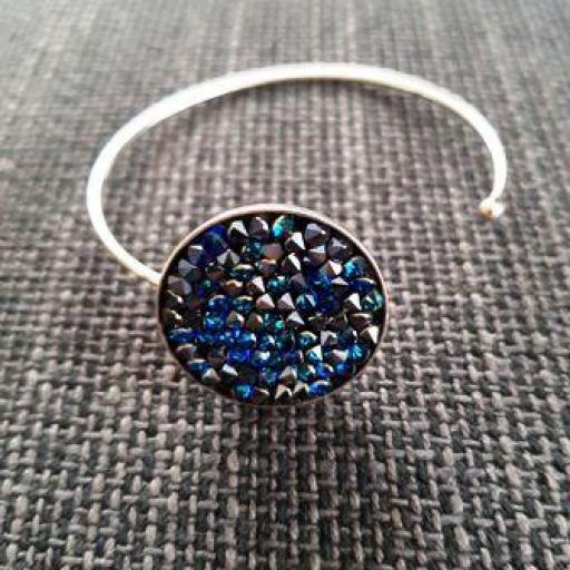 Pulsera Swarovski azul