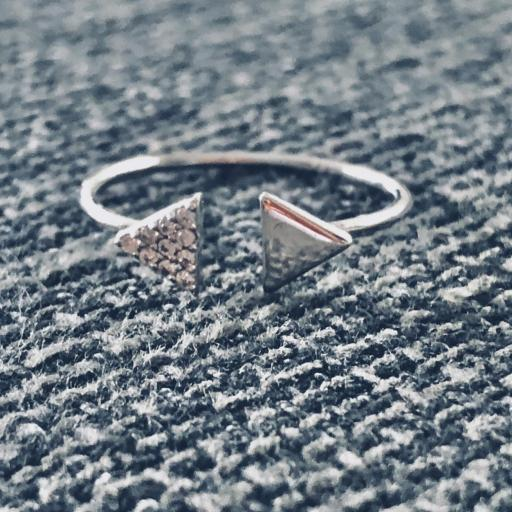 Anillo  abierto de plata con triángulos y circonitas [2]