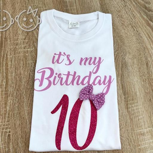 "Camiseta ""Its my Birthday"""