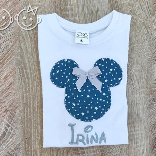 Camiseta Minnie con nombre