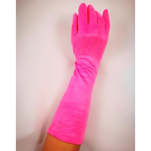 GUANTES ALTOS ANTELINA ROSA CHICLE