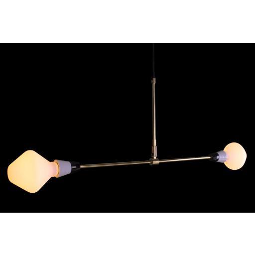 T-Duo XL Lamp with 2 R105 Opal Satin Light Bulbs [1]