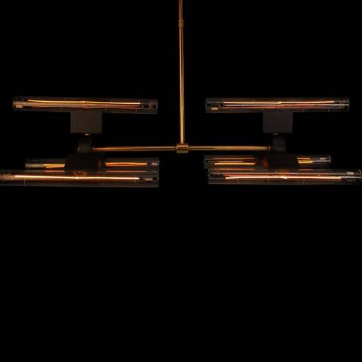 HSIX Lamp with 6 units of Line 30 S Light Bulbs