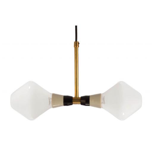T-Duo Lamp with 2 R105 Opal