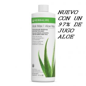 Aloe Max( 97% jugo aloe)