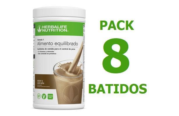 Pack 8 Batidos Formula 1