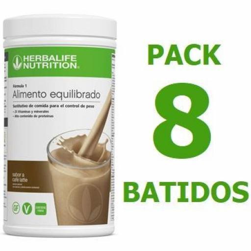 Pack 8 Batidos Formula 1 [0]