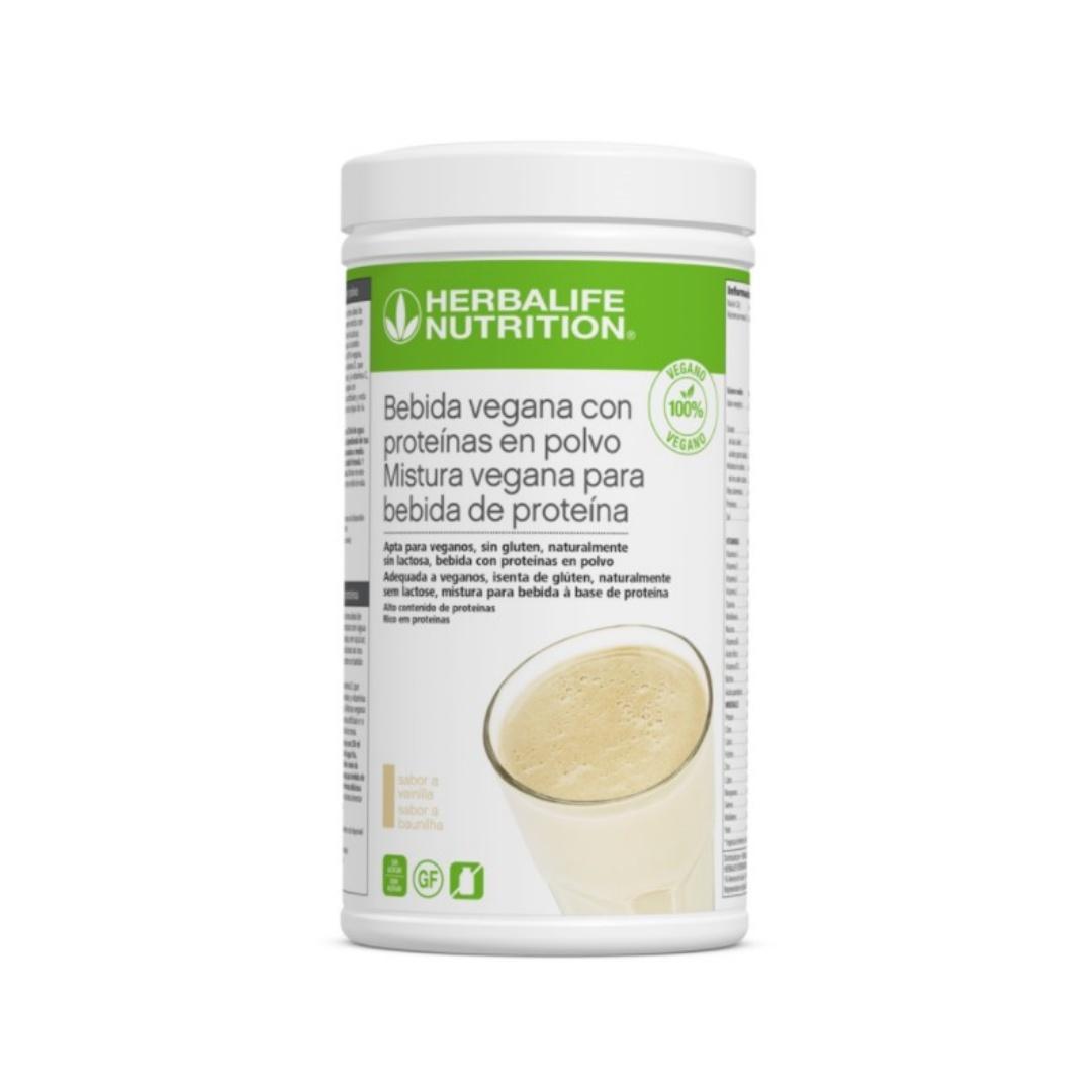 Bebida Vegana con proteinas en polvo Vainilla