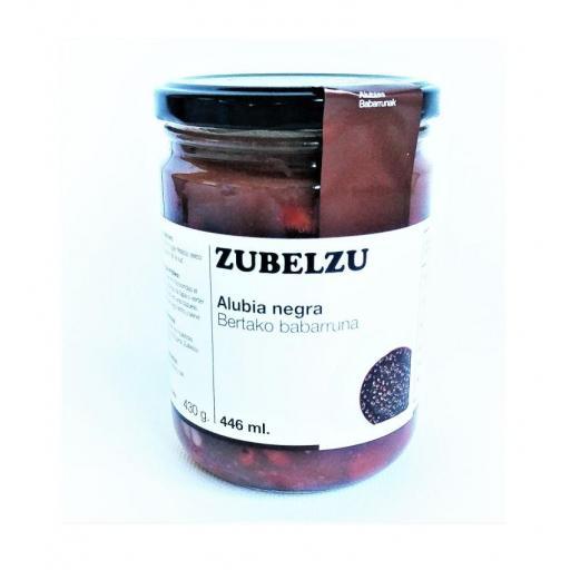 Zubelzu Alubia negra cocida gourmet
