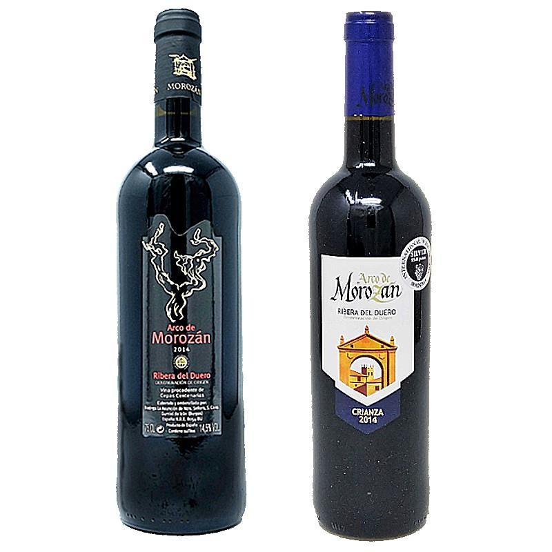 Vino Morozán Selección Crianza