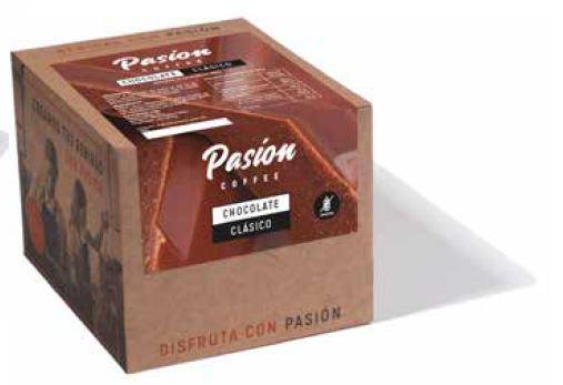 Chocolate clásico a la taza, Pasion