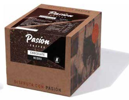 Chocolate negro a la taza, Pasion