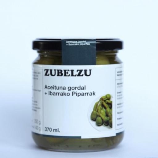 Zubelzu Aceituna Gordal con Piparra Pack 6