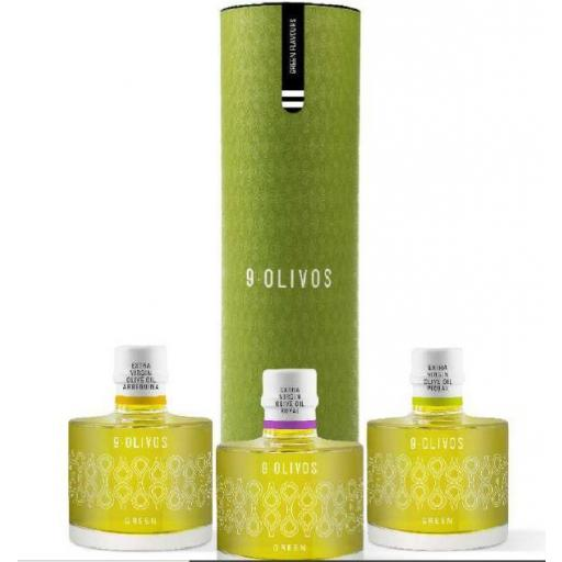 AOVE 9 Olivos Green Flavours