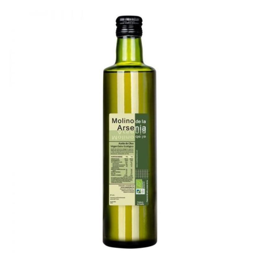 Aceite de oliva ecológico Molino de la Arsenia