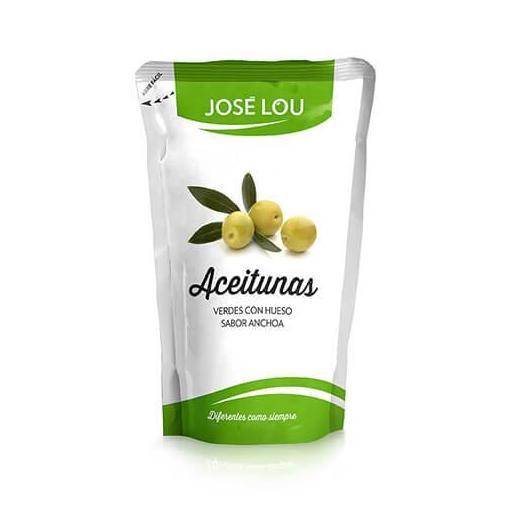 Aceitunas manzanilla sabor anchoa doypack