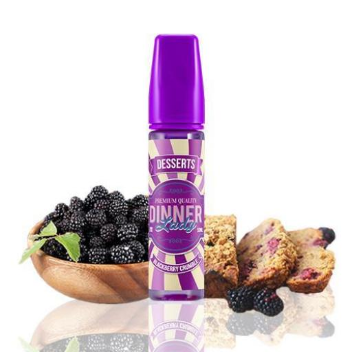 DINNER LADY BLACKBERRY CRUMBLE TPD 50ML