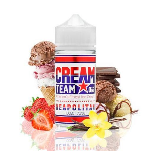 KINGS CREST CREAM TEAM NEAPOLITAN 100ML