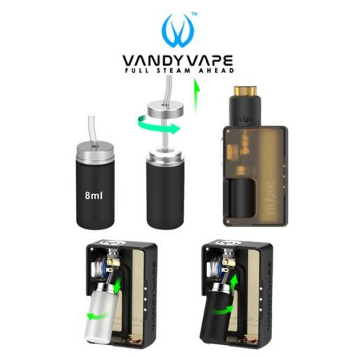 VANDY VAPE PULSE BF KIT FROSTED RED [3]