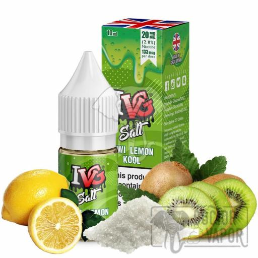 I VG SALT KIWI LEMON 10ML 20MG