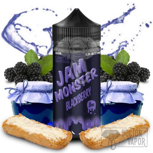 JAM MONSTER BLACKBERRY TPD 100ML