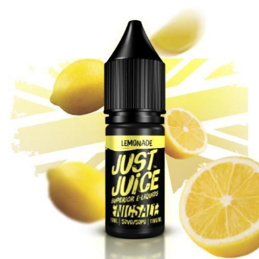 JUST JUICE NIC SALT LEMONADE 10ML