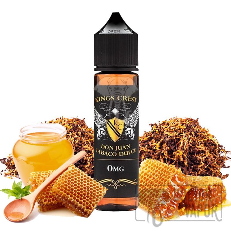KINGS CREST DON JUAN TABACO DULCE TPD 50ML