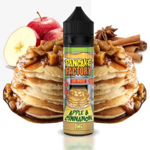 PANCAKE FACTORY APPLE & CINNAMON 50ML SHORTFILL