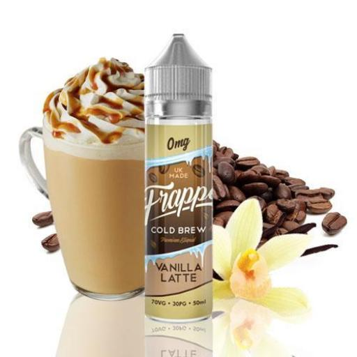 FRAPPE COLD BREW VANILLA LATTE 50ML SHORTFILL