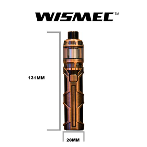 WISMEC SINUOUS SW WITH ELABO SW KIT GOLD [2]