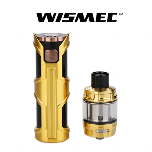 WISMEC SINUOUS SW WITH ELABO SW KIT GOLD [3]