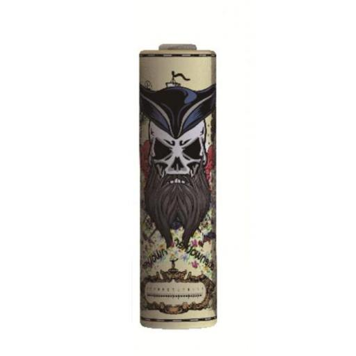 FUNDA BATERIA WRAP 18650 DARKNESS SERIES - MR PIRATE