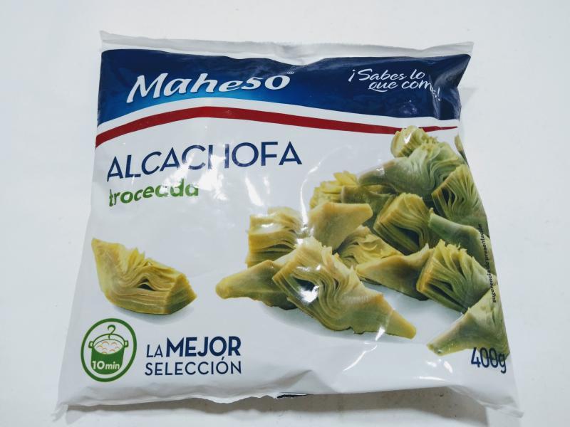 ALCACHOFAS TROCEADAS