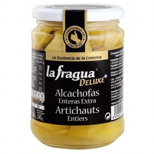 alcachofa entera extra 6/10 tarro 445
