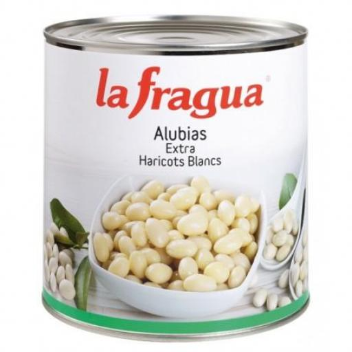 alubias blancas lata 3 kg 6*1