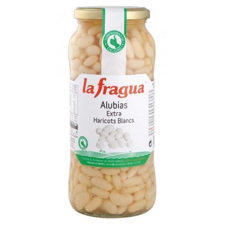alubias blancas tarro 580 gr 12*1