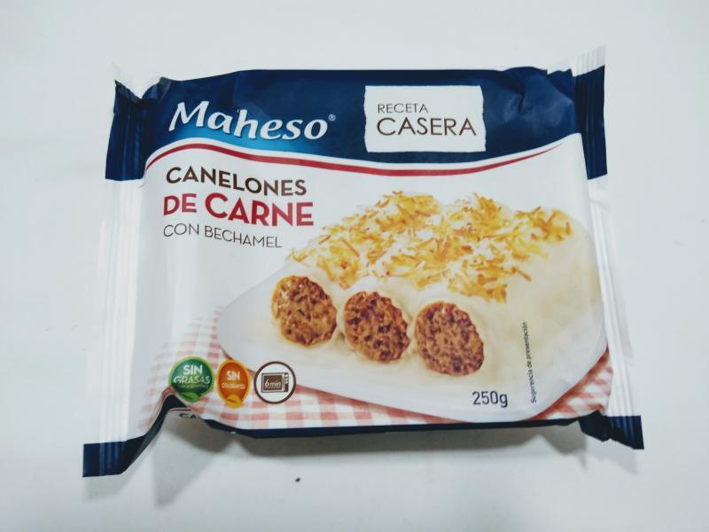 CANELONES DE CARNE
