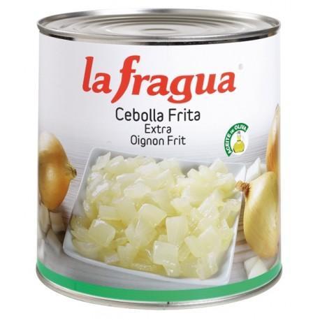 cebolla frita aceite de oliva lata 3 kg 6*1